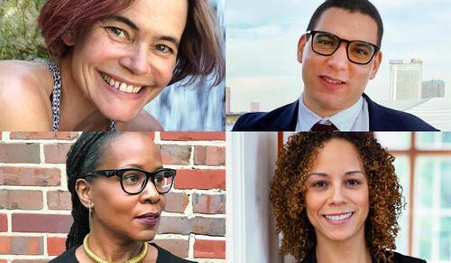 Top left clockwise: Wendy Gilbert, Jonas Elbousty, Aimee Cox, Jennifer Allen.